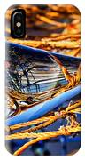 Glass Whale On Fishing Nets IPhone Case