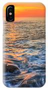 Gleaming Fire At Coitelada Galicia Spain IPhone Case