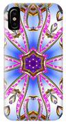 Gleaming Flower Bands IPhone Case