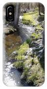 Glistening Stream IPhone Case