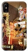 Glitter Gulch In Las Vegas IPhone Case