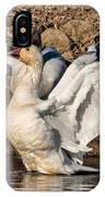 Glorious Snow Goose IPhone Case