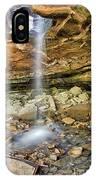 Glory Hole Waterfall Portrait IPhone Case