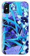Glory Of The Snow - Violet And Turquoise IPhone Case