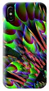 Glow In The Dark Abstract IPhone Case