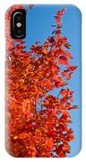 Glowing Fall Maple Colors 1 IPhone Case