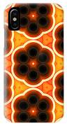Glowing Floral Pattern IPhone Case