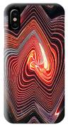 Glowing Lines IPhone Case