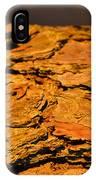 Glowing Pine Bark IPhone Case