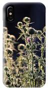 Glowing Thistle - 2 IPhone Case
