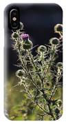 Glowing Thistle - 1 IPhone Case