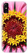 Glowing Zinnia By Kaye Menner IPhone Case