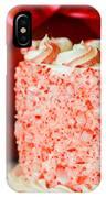 Gluten Free Peppermint Cake IPhone Case