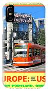 Go By Streetcar IPhone Case