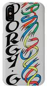 Go Orgy Go IPhone Case