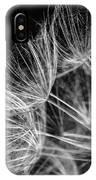 Goatsbeard Seeds IPhone Case