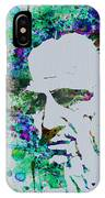 Godfather Watercolor IPhone Case