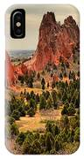Gods Garden In Colorado IPhone Case