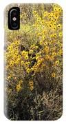 God's Golden Bouquet In Autumn IPhone Case