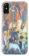 God's Horse Masters-the Deposition IPhone Case