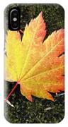 God's Perfect Leaf IPhone Case