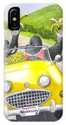 Going Bananas IPhone Case