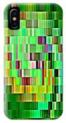 Going Green Geometric Abstractions Colorful Creations Designer Phone Cases 123 Carole Spandau IPhone Case