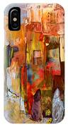 Going To The Medina In Morocco IPhone Case