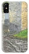Going Up The Lane In Beynac Digital Print IPhone Case