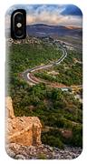 Golan Heights IPhone Case