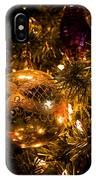 Gold Christmas Ornament IPhone Case