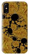 Gold Forming IPhone Case