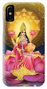 Gold Lakshmi IPhone X Case