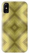 Gold Metallic 14 IPhone Case