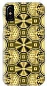 Gold Metallic 16 IPhone Case