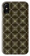 Gold Metallic 17 IPhone Case