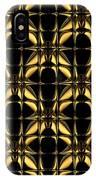 Gold Metallic 8 IPhone Case