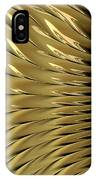Gold Ridges IPhone Case