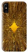 Gold Star IPhone Case