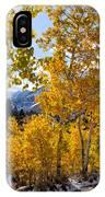 Golden Aspen On The Lake IPhone Case