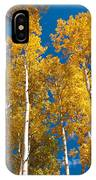Golden Aspen Stand IPhone Case