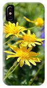 Golden Aster IPhone Case