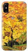 Golden Autumn Colors IPhone Case