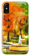 Golden Autumn Day 2 IPhone Case