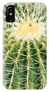 Golden Ball Cactus IPhone Case