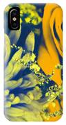 Golden Blossoms Pop Art IPhone Case