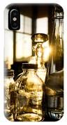Golden Bottles And Mason Jars IPhone Case