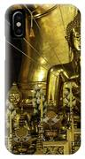 Golden Buddhas IPhone Case