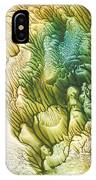 Golden Coral IPhone Case