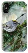 Golden-crowned Kinglet IPhone Case